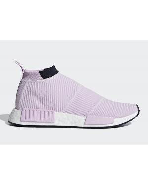 adidas NMD City Sock Clear Lilac/Clear Lilac-Legend Ink B37658
