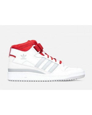 Adidas Forum Mid White/Grey-Red FY6819