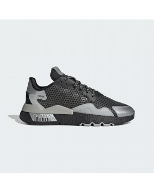Adidas Nite Jogger EF5407 Black/Silver Metallic/Grey Two