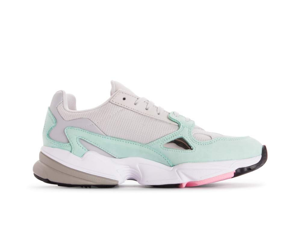 Adidas Falcon Grey/Grey/Green B28127