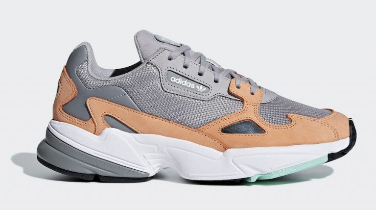 Adidas Falcon Grey/Grey-Orange B28130