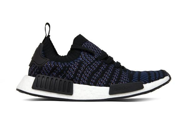 Adidas NMD R1 STLT Primeknit Shoes Black AC8326