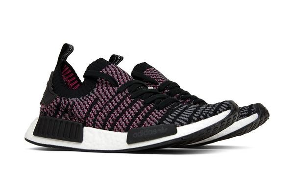 Adidas Men's NMD R1 STLT Primeknit Shoes Black CQ2386
