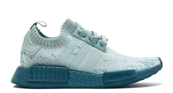 Adidas NMD R1 Primeknit Shoes Blue CG3601