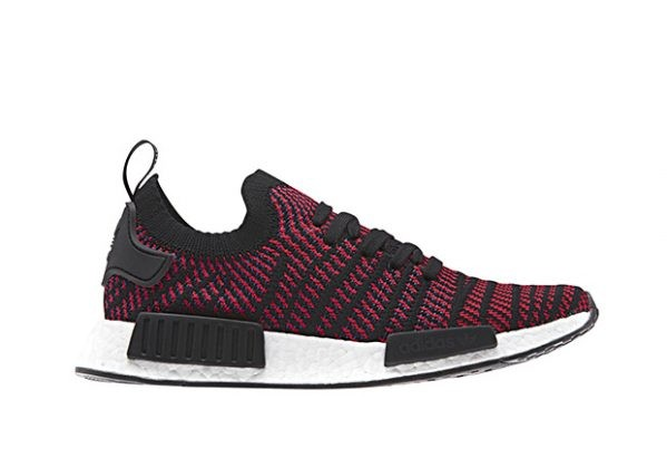 2018 Adidas NMD R1 STLT Core Black/Red Solid CG2385