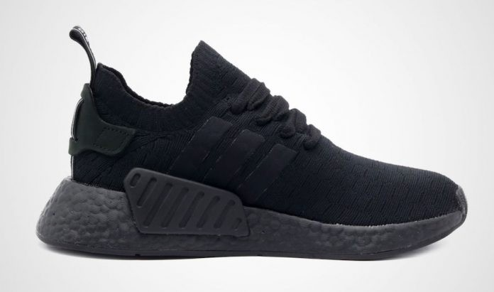 Adidas NMD R2 Triple Black Womens BY9525