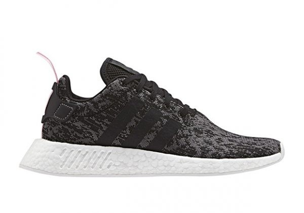 Adidas NMD R2 Boost Black White BY9314