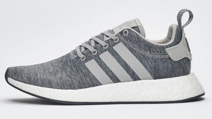Adidas NMD R2 Melange Medium Grey BY2790