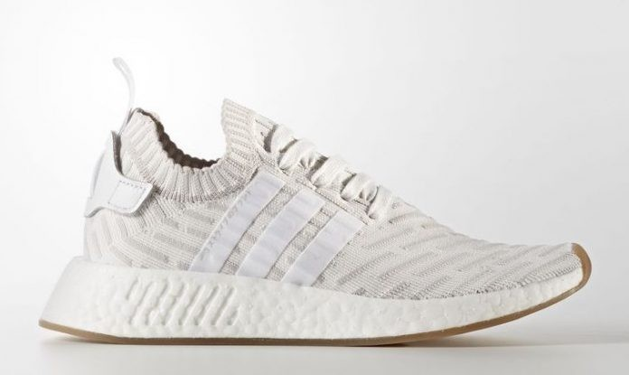 Adidas NMD R2 Primeknit White BY9954