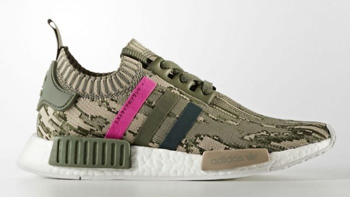 Adidas NMD R1 Glitch Camo St Major Womens BY9864