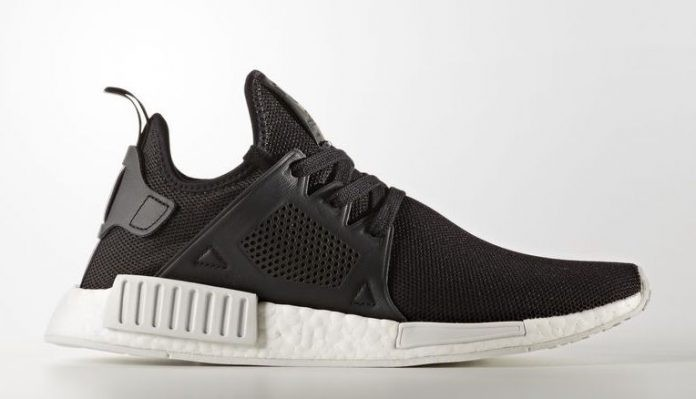 "Adidas NMD XR1 ""Core Black"" Leather Cage BY9921"