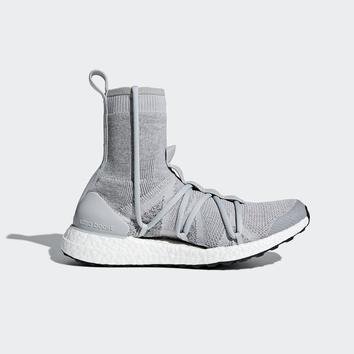 Adidas Ultraboost X Mid Shoes Grey BB6269