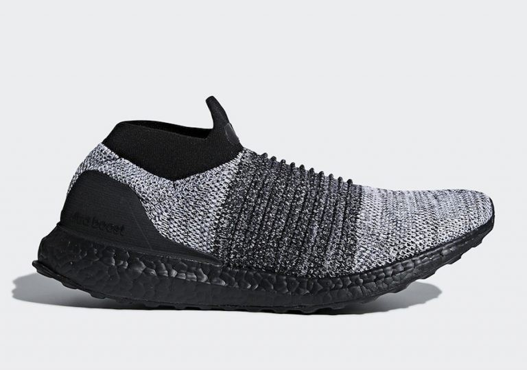 Adidas Ultra BOOST Laceless Black Soles BB6137