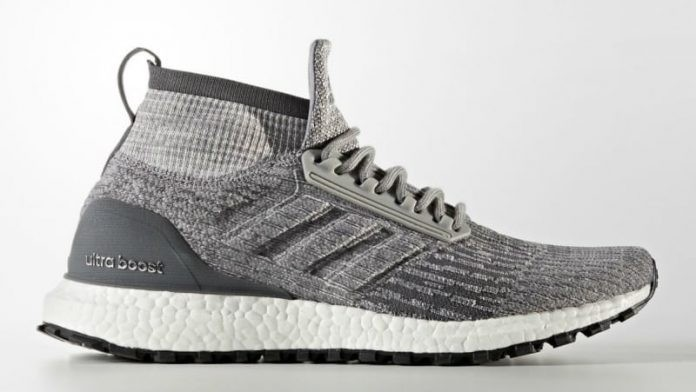 Adidas Ultraboost All Terrain Shoes Grey CG3000
