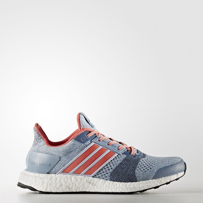 Adidas Ultra Boost ST Shoes Blue BA7835