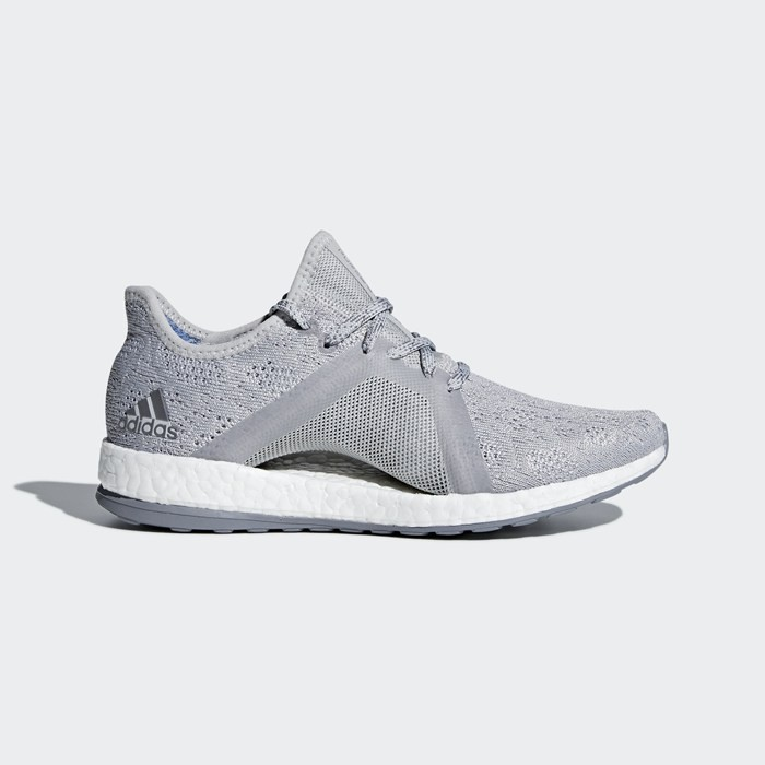 Adidas PureBOOST X Element Shoes Women's Running Grey BB6085