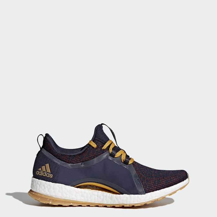 Adidas PureBOOST X All Terrain Shoes Women's Running Blue BY2690
