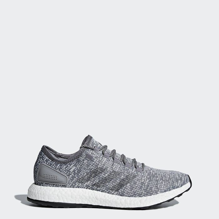 Adidas Pure Boost Shoes Men's Running Grey BA8900