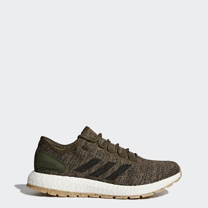 Adidas PureBOOST All Terrain Shoes Men's Running Green S80784