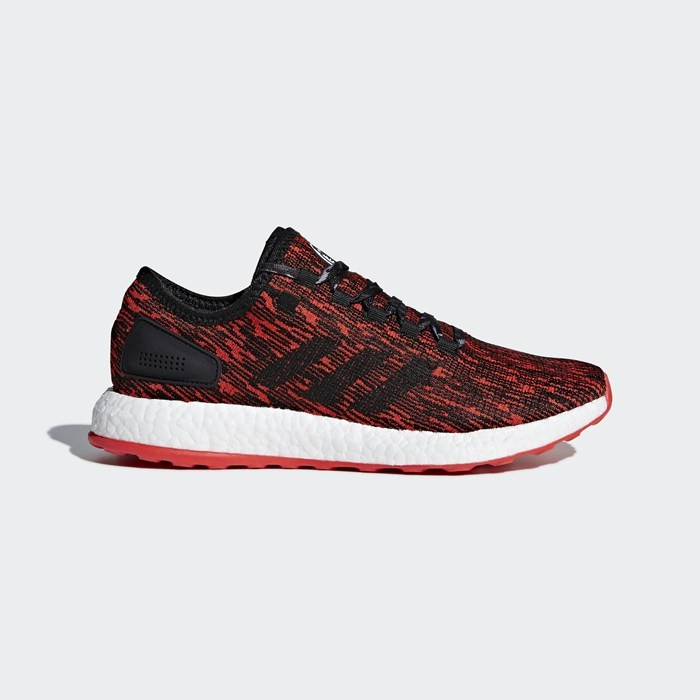 Adidas PureBOOST Shoes Men's Running Red CP9327