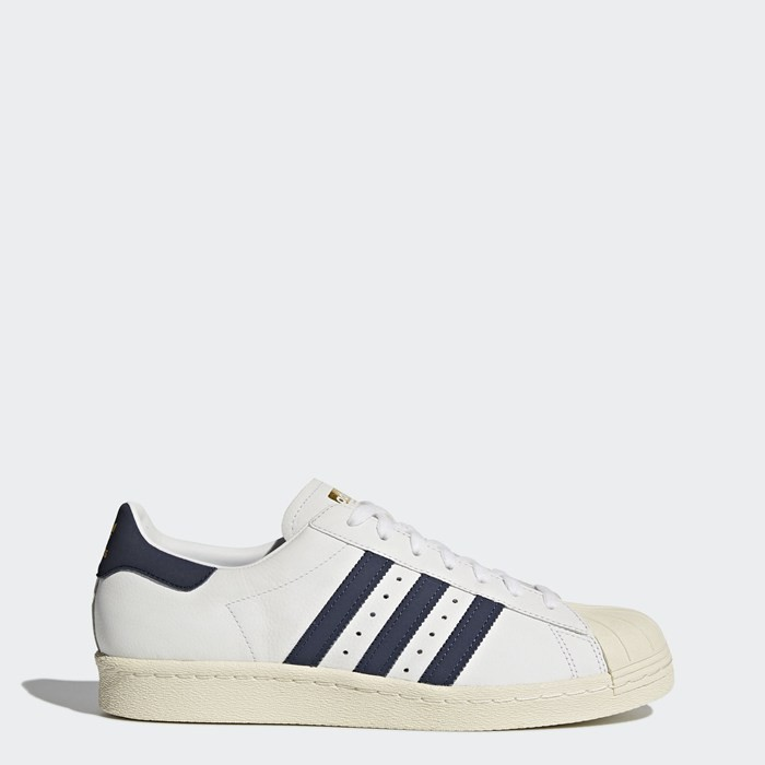 Adidas Superstar 80s Shoes Originals White BZ0145