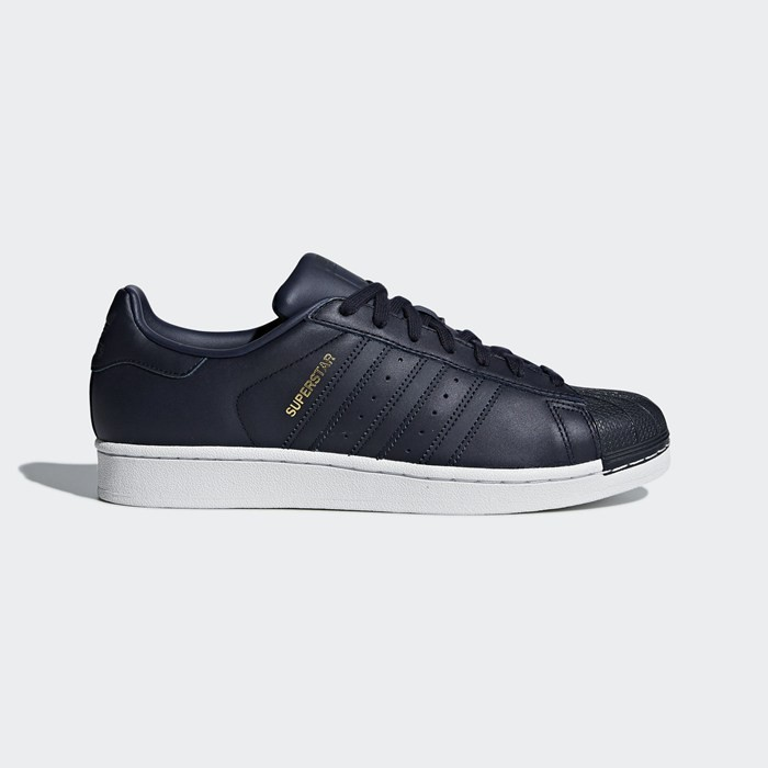 Adidas Superstar Shoes Men's Originals Blue CM8072