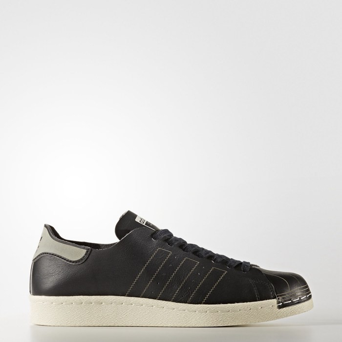 Adidas Superstar 80s Decon Shoes Originals Black BZ0110