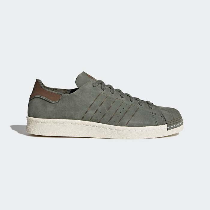 Adidas Superstar 80s Decon Shoes Originals Green CQ2211