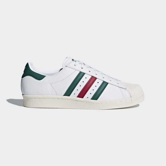 Adidas Superstar 80s Shoes Originals White CQ2654