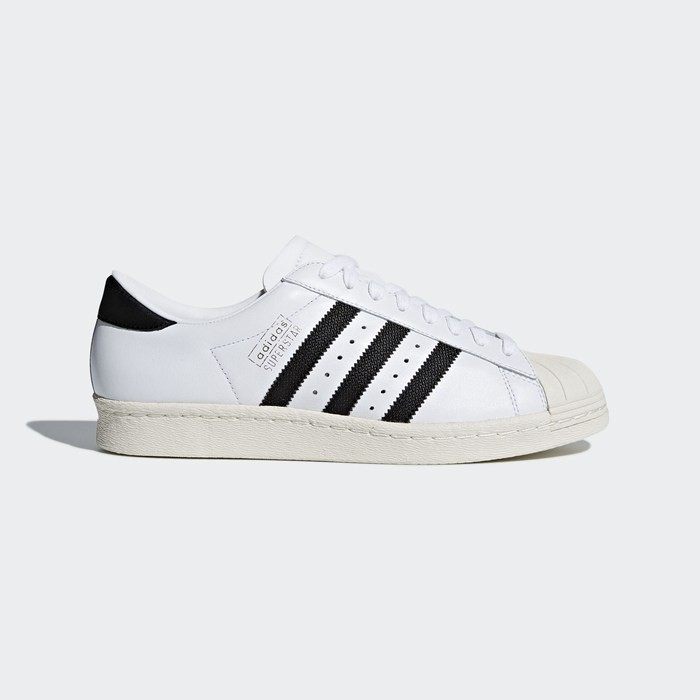 Adidas Superstar OG Shoes Men's Originals White CQ2475