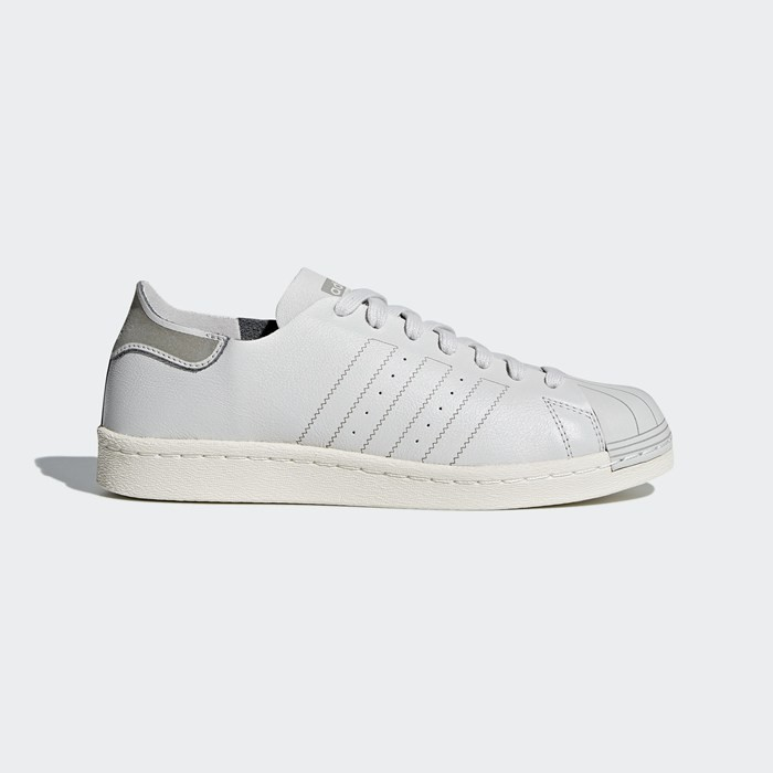 Adidas Superstar 80s Decon Shoes Women's Originals Grey CQ2588