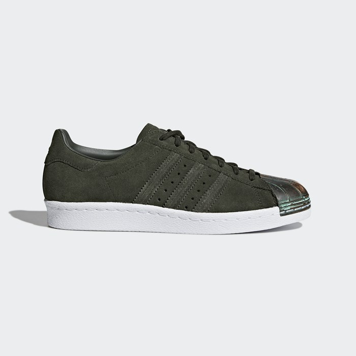 Adidas Superstar 80s MT Shoes Women's Originals Green CQ3105