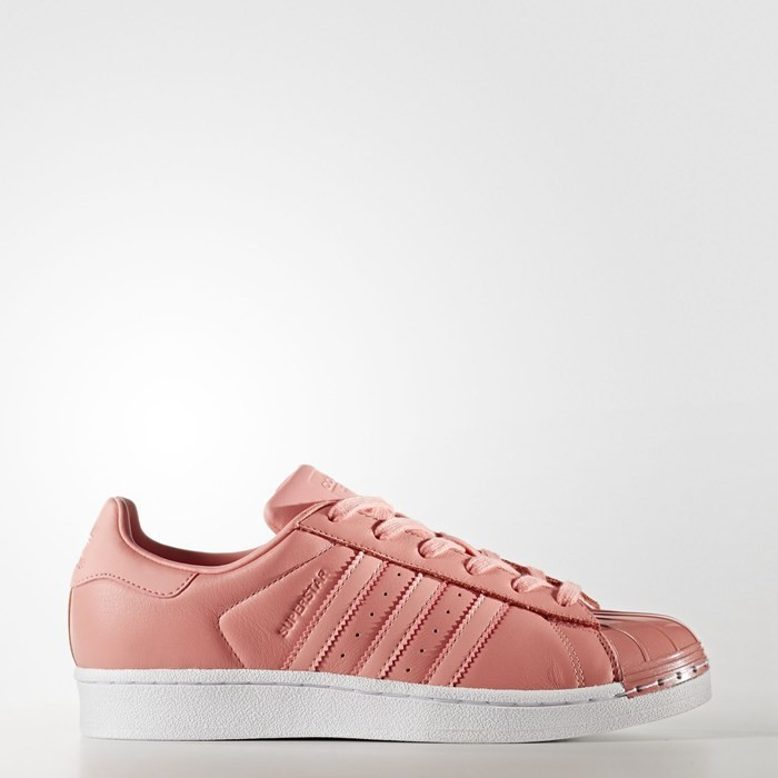 Adidas Superstar 80s Shoes Women's Originals Pink BY9750