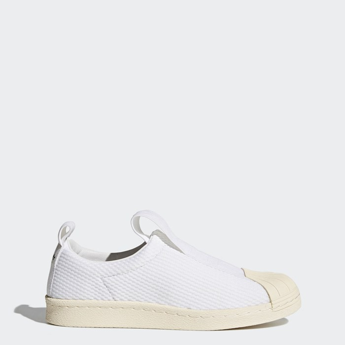 Adidas Superstar BW Slip-On Shoes Women's Originals White BY2949