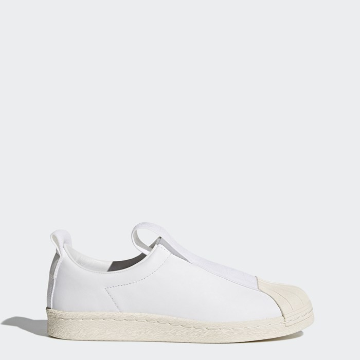 Adidas Superstar BW Slip-On Shoes Women's Originals White BY9139