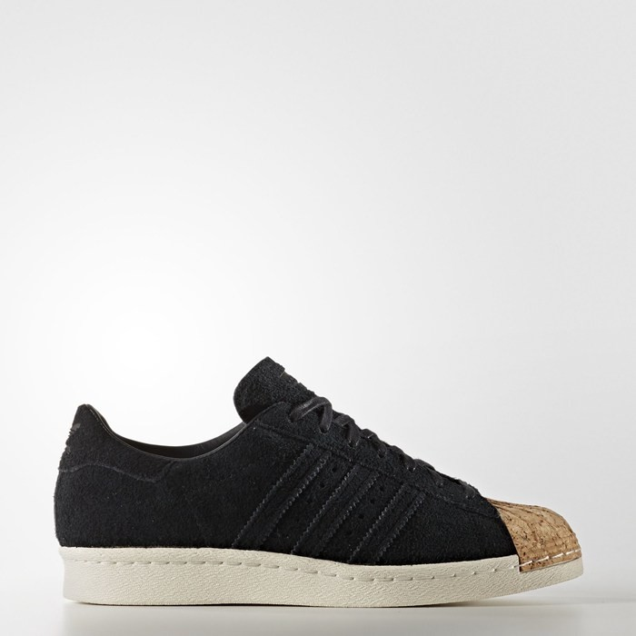 Adidas Superstar 80s Shoes Originals Black BY2963