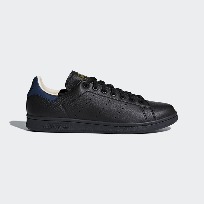 Adidas Stan Smith Shoes Originals Black CQ2203