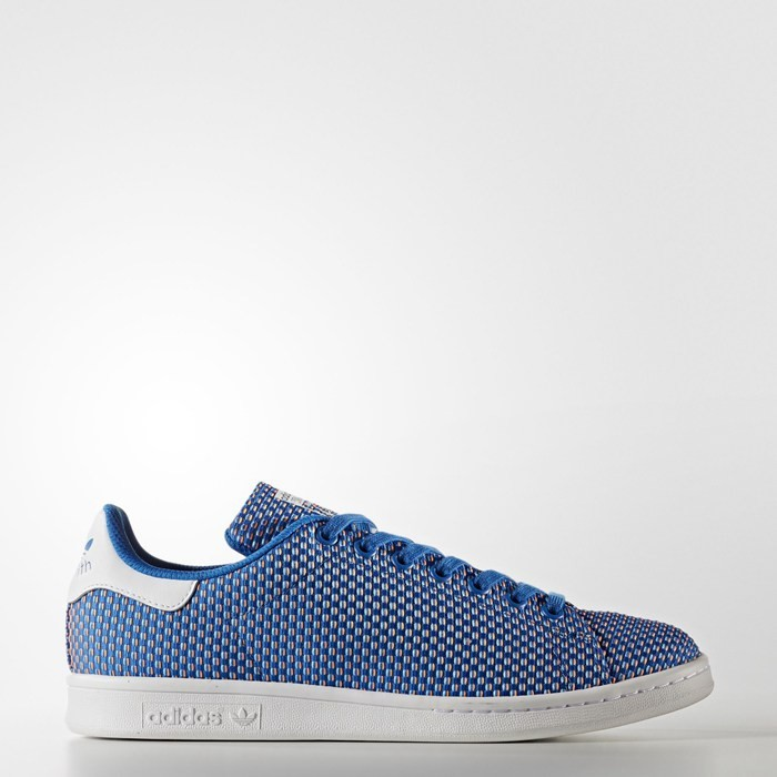 Adidas Stan Smith Shoes Women's Originals Blue BB0058