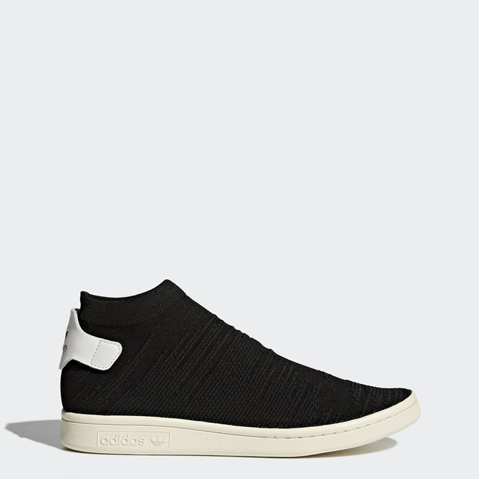 Adidas Stan Smith Shock Primeknit Shoes Women's Originals Black BY9251