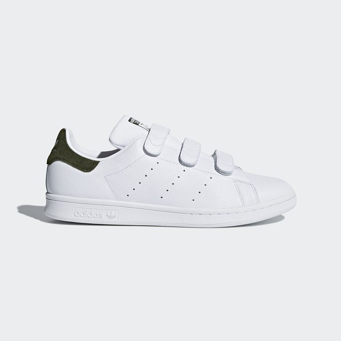Adidas Stan Smith Shoes Men's Originals White CQ2635
