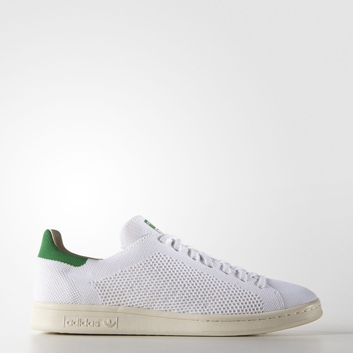 Adidas Stan Smith OG Primeknit Shoes Originals White S75146