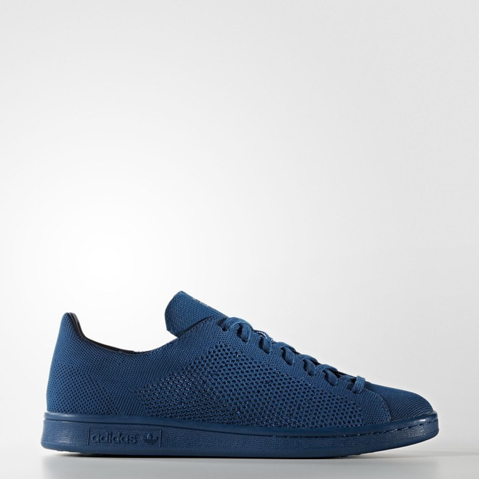 Adidas Stan Smith Primeknit Shoes Originals Blue S80067