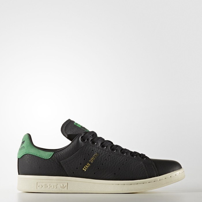 Adidas Stan Smith Shoes Originals Black BZ0458