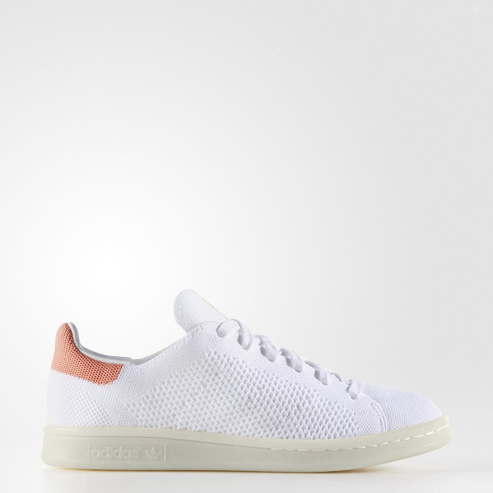 Adidas Stan Smith Primeknit Shoes Originals White BY2980