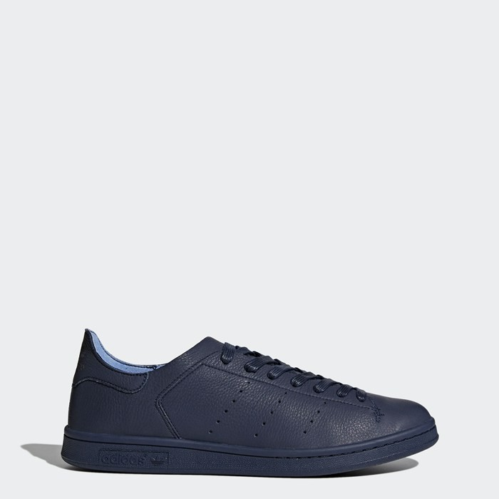 Adidas Stan Smith Leather Sock Shoes Originals Blue BZ0231