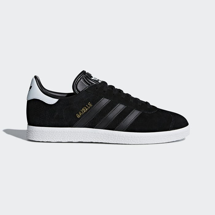 Adidas Gazelle Shoes Women's Originals Black CQ2182