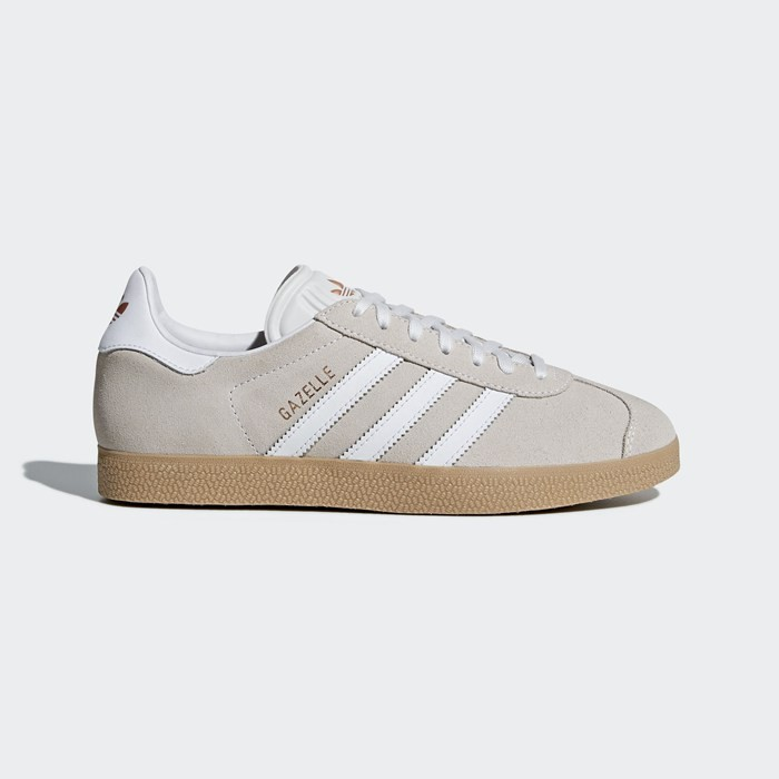 Adidas Gazelle Shoes Women's Originals White B75568