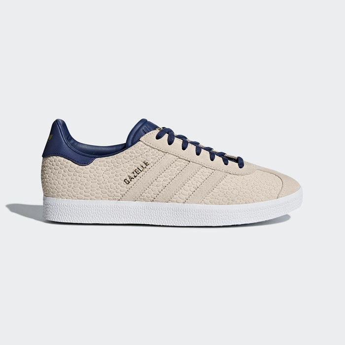 Adidas Gazelle Shoes Women's Originals Beige CQ2190
