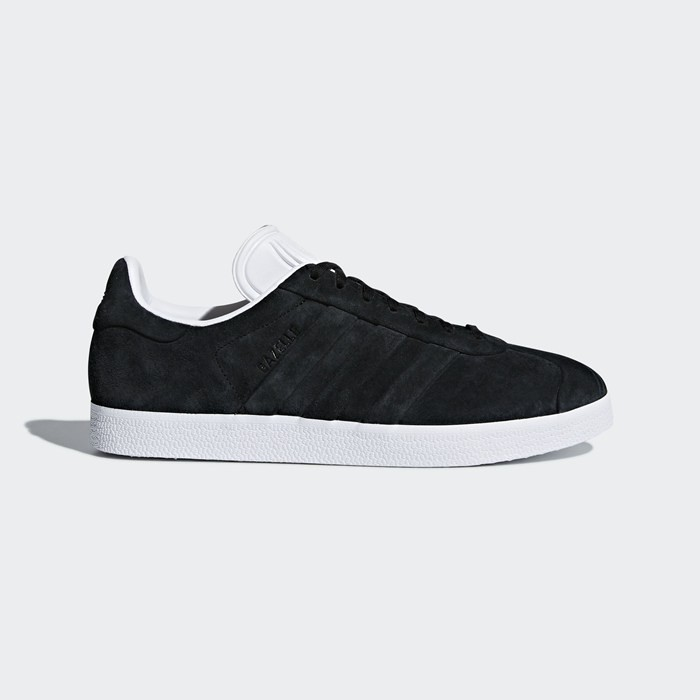 Adidas Gazelle Stitch and Turn Shoes Men's Originals Black CQ2358