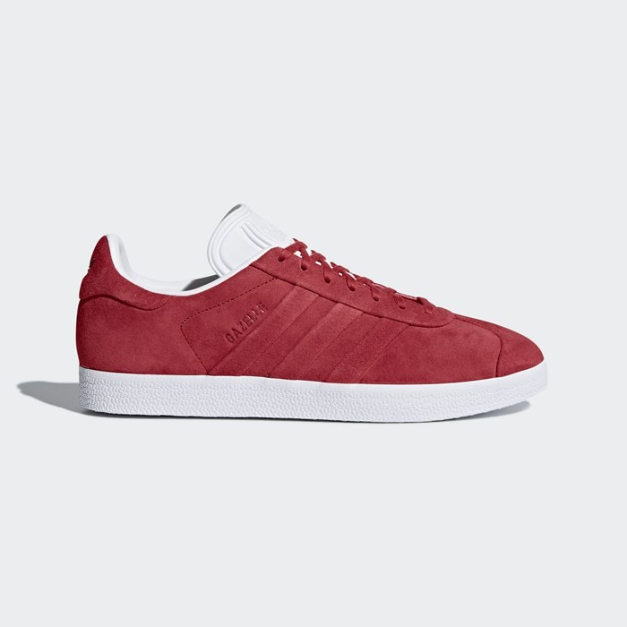 Adidas Gazelle Stitch and Turn Shoes Originals Red BB6757